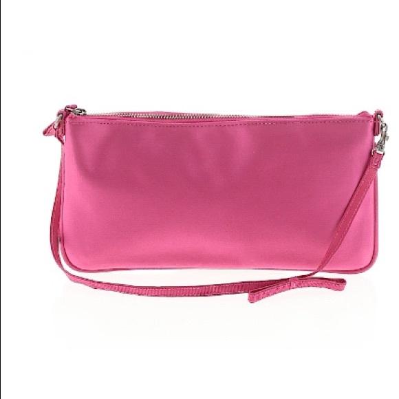 J. Crew Handbags - J. Crew Pink Solid Silk Blend Purse NWT